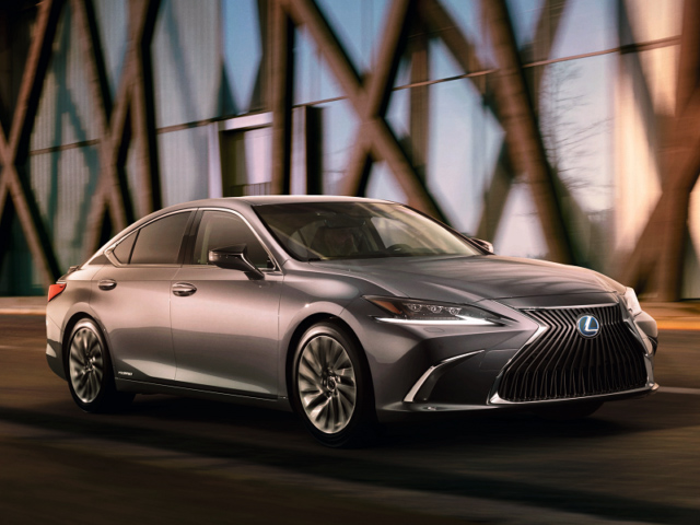 The new Lexus ES