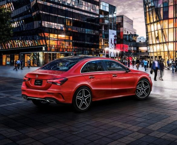 Mercedes-Benz A-Class Saloon to launch late 2018