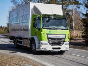 The self-charging road is being tested first with converted commercial vehicles.