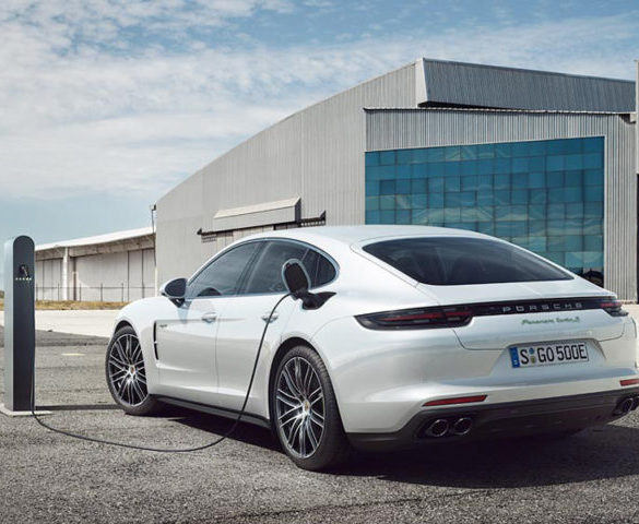 Best-ever first quarter for Porsche, aided by PHEV sales