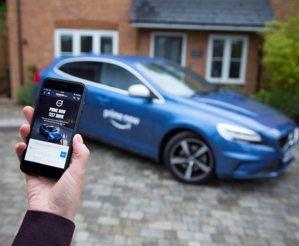 Volvo UK to offer workplace 'Prime Now test drives' with Amazon