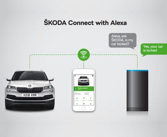 Škoda connects with Amazon Alexa