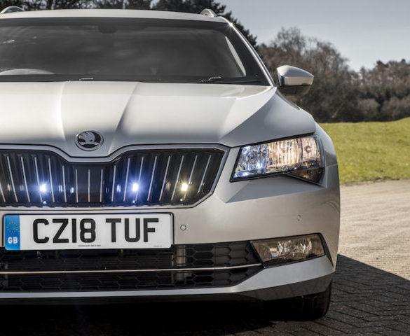 Blast-resistant Škoda Superb Estate launches