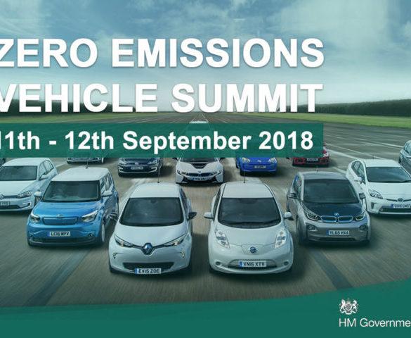 UK sets date for world-first Zero Emissions Vehicle Summit