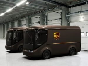 UPS will deploy its first Arrival trucks by the end of the year.