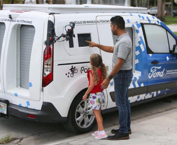 Ford explores future for self-driving food deliveries