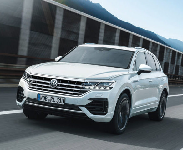First Drive: Volkswagen Touareg