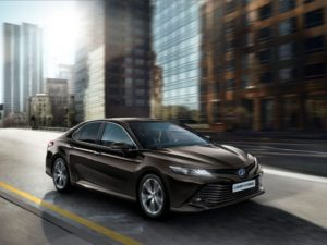 Toyota will re-introduce the Camry as a petrol hybrid.