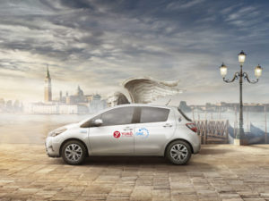 Toyota's Yuko carsharing scheme brings access to a fleet of 49 vehicles in Venice