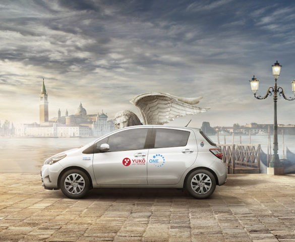 Toyota's Yuko carsharing club expands to Italy