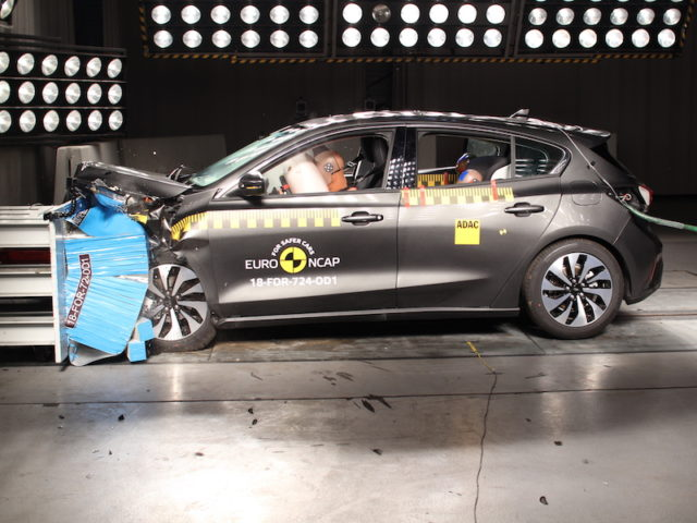 The all-new Ford Focus scored a five-star Euro NCAP rating