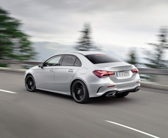 First ever A-Class Sedan revealed
