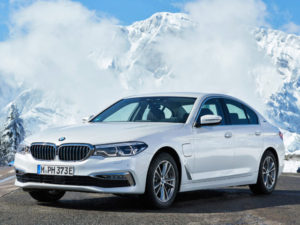 Dataforce said plug-in models such as the BMW 530e iPerformance are helping to drive the executive sector
