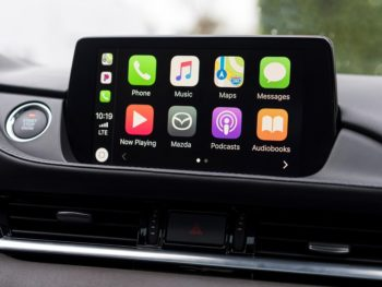 Apple CarPlay connectivity requires a hardware and software upgrade.