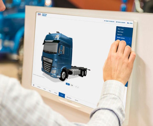 DAF 3D online truck configurator to cut lead times