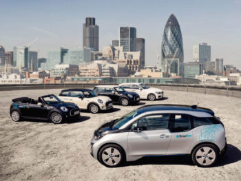 DriveNow, the carsharing joint venture of the BMW Group and Sixt