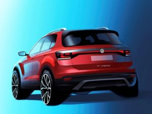 The T-Cross is likely to be revealed at the Paris Motor Show in October