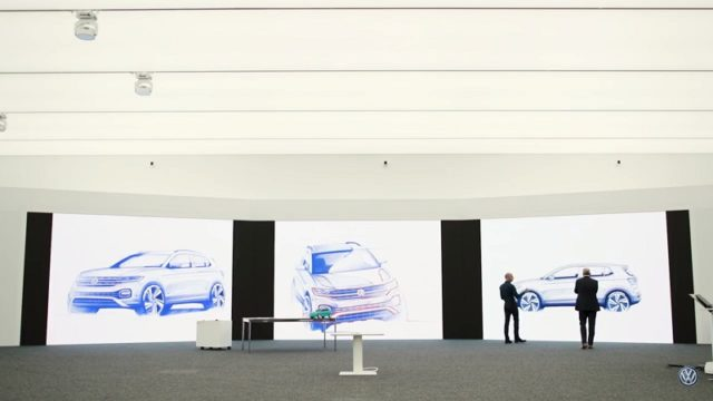 Volkswagen has hinted at other design cues in a brief promotional video