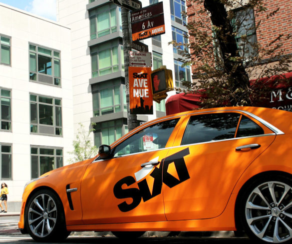 Sixt makes New York City debut
