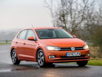 The Rent-A-Car service includes a selection of popular VW and Škoda brands