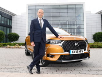 Rob Thomas, UK sales director, DS Automobiles