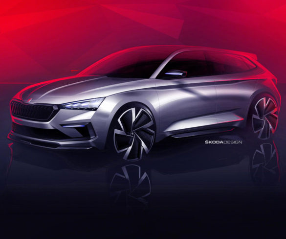 Škoda hints at new model with Vision RS concept
