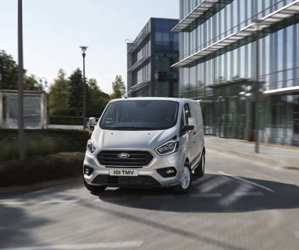 Ford debuts production Transit Custom PHEV