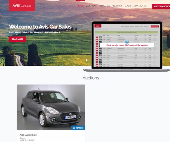 Avis UK rolls used car sales onto single platform