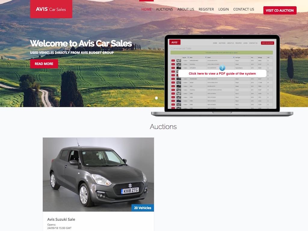Online Car Sales >> Avis Uk Rolls Used Car Sales Onto Single Platform