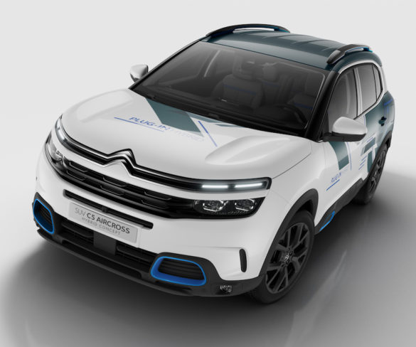 Citroën previews sub-50g/km C5 Aircross plug-in hybrid