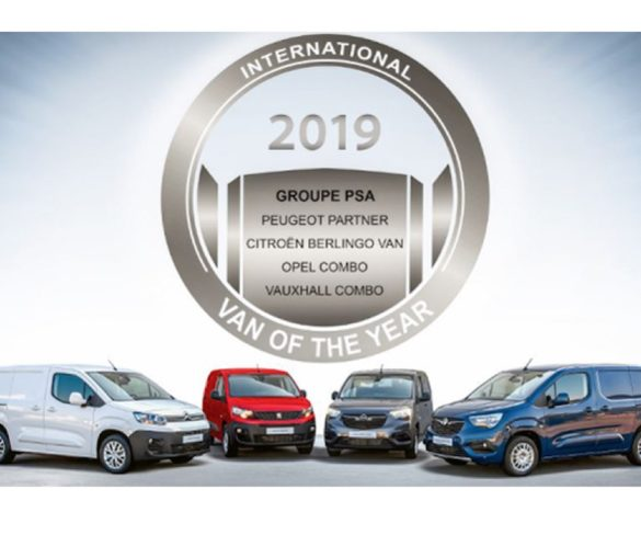 PSA Group trio elected International Van Of The Year 2019