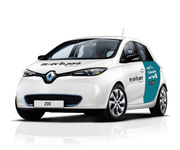 Renault goes live with all-electric car sharing service in Paris