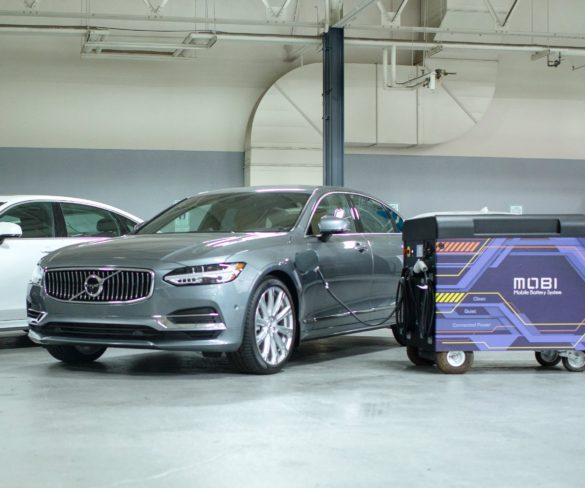 Volvo invests in mobile rapid charging