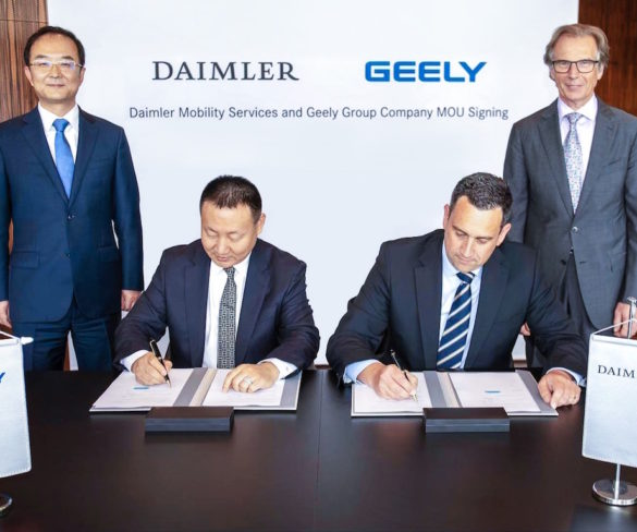 Daimler and Geely to form ride-hailing joint venture in China