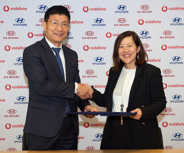 Kia and Hyundai tie up with Vodafone for connected car services