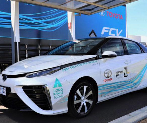 Toyota starts hydrogen FCEV trials in Australia
