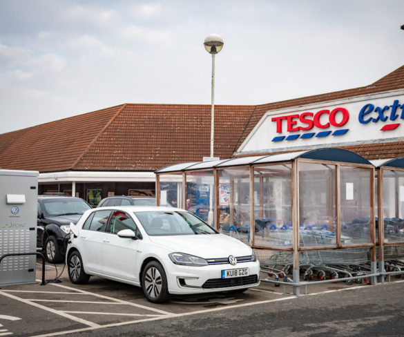 Tesco, VW and Pod Point to roll out UK's 'largest free charging network'