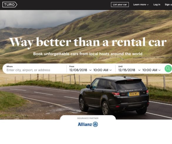 Car sharing to bring cost savings and convenience for UK fleets, says Turo
