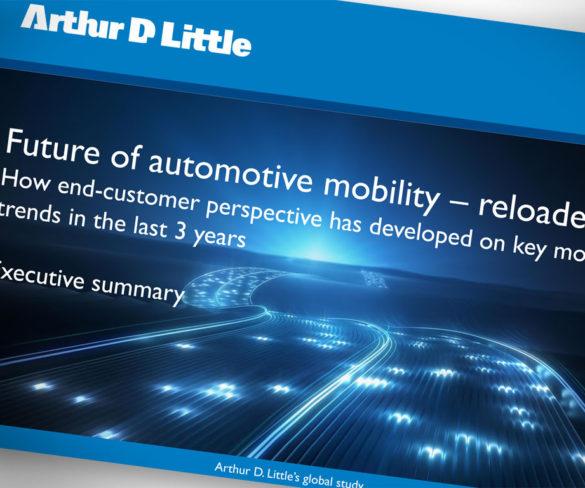 Car ownership still important despite mobility movement, finds Arthur D. Little
