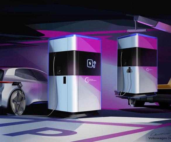 Volkswagen reveals flexible and mobile rapid charger