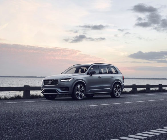 2020 Volvo XC90 cuts fuel costs 15% with mild hybrid