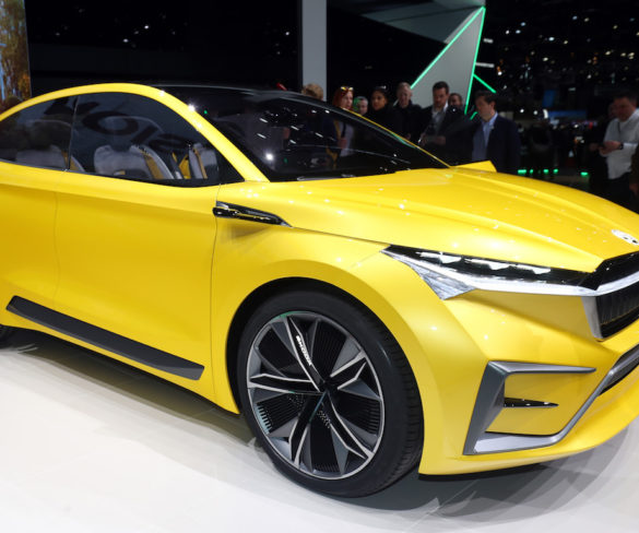 Škoda Vision iV concept shows plans for electric crossover