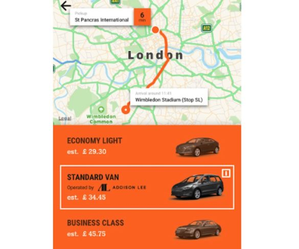 Addison Lee services now available through Sixt mobility app