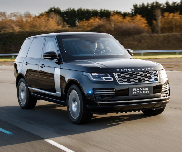 Armoured Range Rover Sentinel get extra power and protection