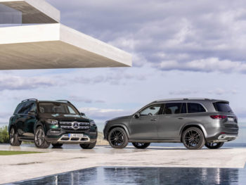 The new Mercedes-Benz GLS will compete against the Range Rover and BMW X7