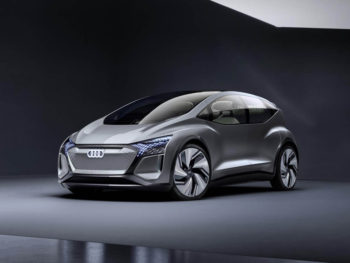 Audi has introduced a new mobility concept at Auto Shanghai 2019, designed for megacities of the future
