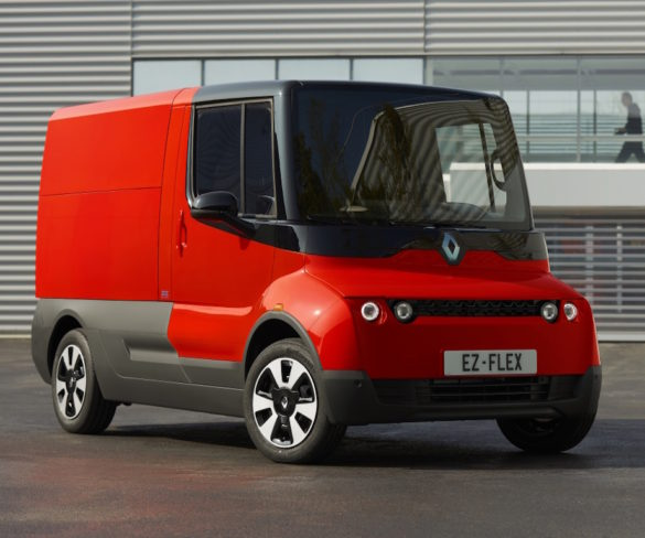 Renault EZ-Flex concept addresses last-mile delivery challenges