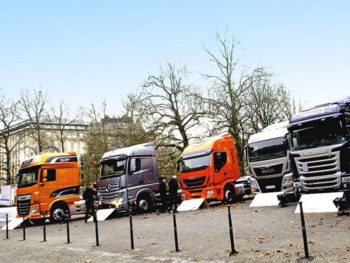 EU commercial vehicle registrations increased for the third consecutive month (+4.1%) in March