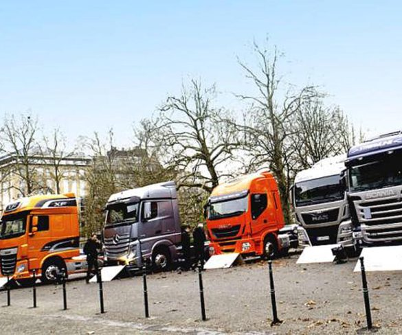 EU commercial vehicle registrations up 5.1% in Q1