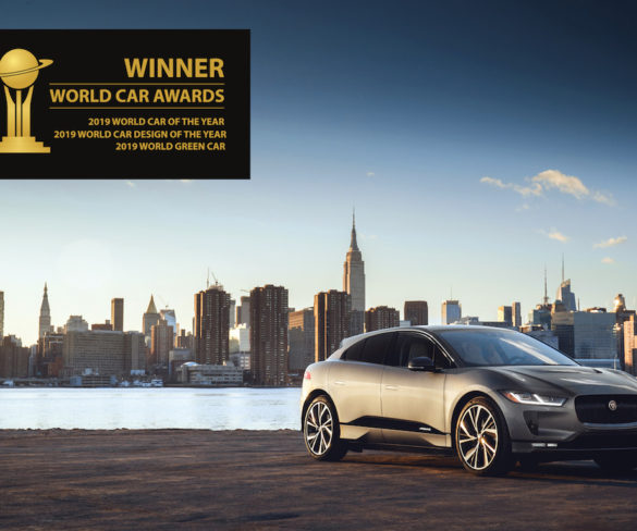 Jaguar I-Pace scores triple win at 2019 World Car of the Year awards